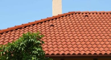 Terrán Standard tetőcserép natúr