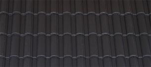 Terrán Danubia Resistor tetőcserép carbon