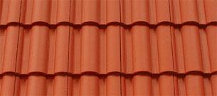 Terrán Danubia Colorsystem tetőcserép tégla