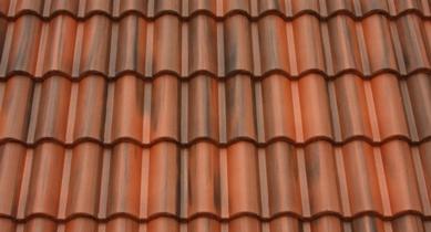 Terrán Coppo Colorsystem tetőcserép Ódon