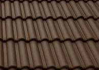 Bramac Római Novo tetőcserép sötétbarna