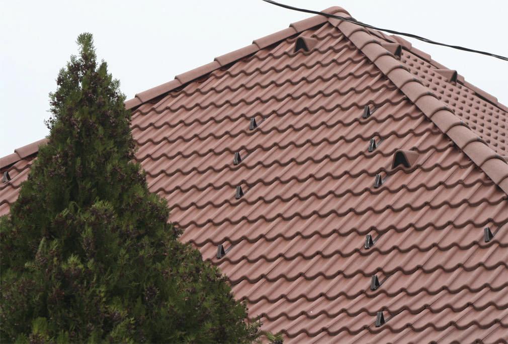 Bramac Natura Plus tetőcserép natúrbarna