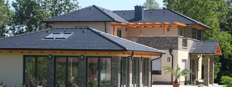 Bramac Tectura Protector antracit tetőcserép