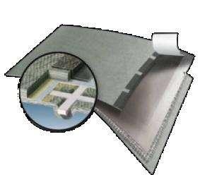 Bramac Top RU Resistant páraátereszt tetőfólia dupla ragasztósávval