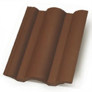 Terrán Danubia Colorsystem tetőcserép barna