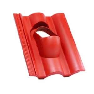 Terrán műanyag átvezető alapcserép Standard tetőcseréphez
