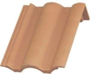 Renova félnyeregtető cserép terrakotta barna,fekete,tégla