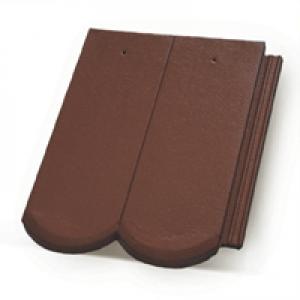 Terrán Rundo Colorsystem tetőcserép barna